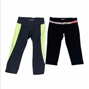2 Pairs of Women's Active Wear Pants Size Small